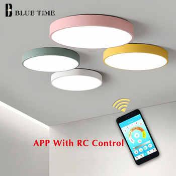 Luminaires Led moderne lustre métal plafonnier éclairage salon chambre cuisine Lampara déco techo Luminaires