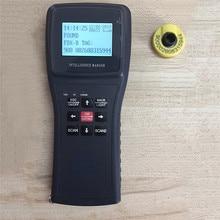 цена на 134.2K Animal Ear Tag Pet Chip Code Scanner Handheld Low Frequency Card Reader ISO11784 FDX-B