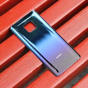 Image 2 - מקורי חזרה הסוללה כיסוי שיכון עבור Huawei Mate 20 פרו Mate20 פרו סוללה חזרה אחורי זכוכית מקרה