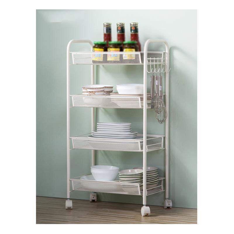 Купить с кэшбэком Articulos De Cocina Home Sponge Organizacion Spice Kitchen Rack Cutlery Holder Organizer Trolleys With Wheels Prateleira Shelf
