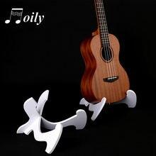 Портативный укулеле Скрипка деревянный держатель стенд Складная