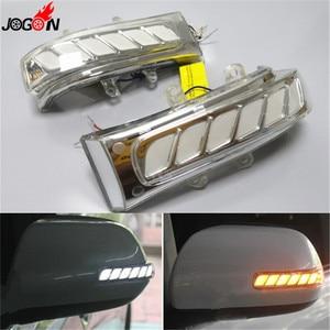 Image 1 - Für Toyota Sienna Highlander RAV4 Previa Alphard Noah 07 13 Dynamische Blinker Licht LED Seite Spiegel Sequentielle Anzeige lampe