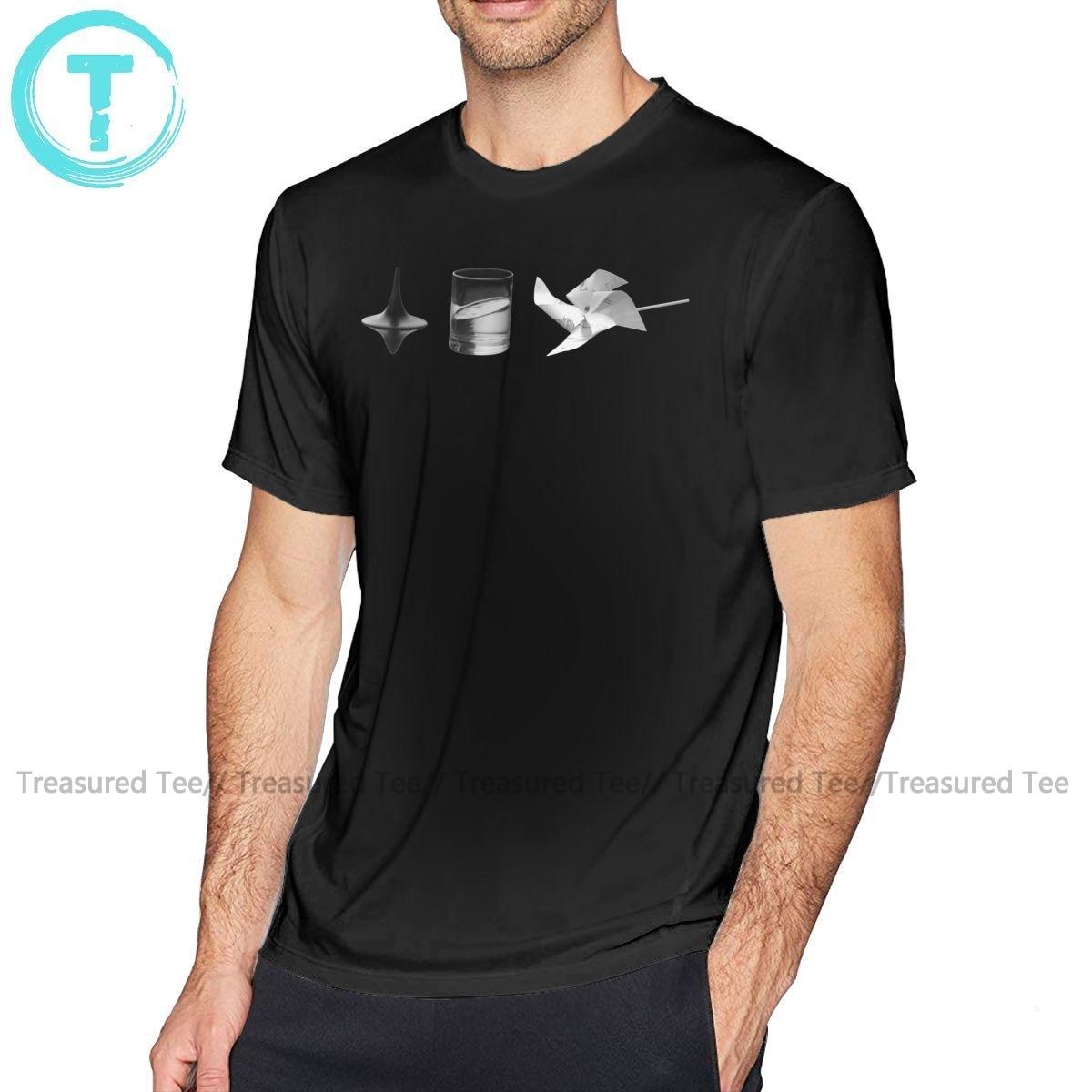 Inception Totem T Shirt Dreams T-Shirt Classic 100 Cotton Tee Shirt Printed Male Short-Sleeve Cute 5x Tshirt