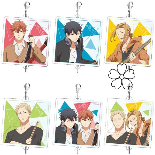 Anime Given Sato Mafuyu Uenoyama Ritsuka Nakayama Haruki Akihiko Acrylic Figure Keychain Key Rings Cute Strap Pendants Gifts