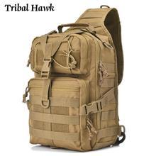 Camo Backpack Tactical-Bag Assault EDC Rucksack Men Military-Molle Waterproof Sling-Bag