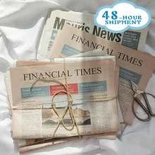 W & G, ретро-английская бумага для новостей, старая новостная бумага, реквизит для фотографий, Цветочная оберточная бумага, бумажные реквизит...