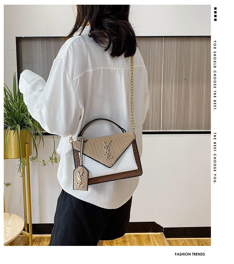 Single Shoulder Messenger Flap Bags Ladies Fashionable Purses and Handbags