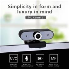 Компьютер HD видео с USB 360 градусов вращения камеры микрофон 2 в 1 для студента онлайн класса домашнего офиса видео