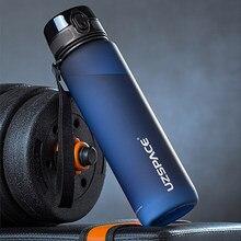 Bouteille d'eau de grande capacité de 1000ml, Shaker étanche Portable, verres en plastique givré, bouteille à boire directe pour voyage, camping, sport