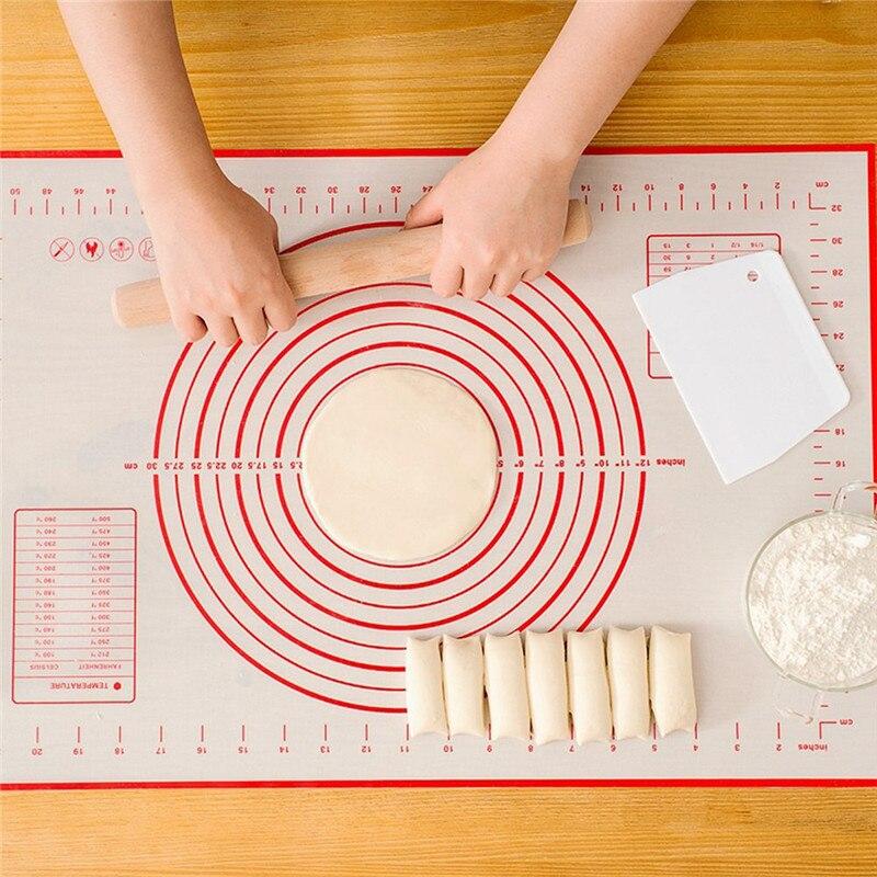 Силиконовые формы для выпечки лист тесто для пиццы с антипригарным покрытием чайник держатель Кондитерские Кухня аксессуары Пособия по ку...