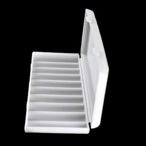 Image 1 - 1PC 10X18650แบตเตอรี่กรณี18650กล่องเก็บสีขาวกรณีฝาครอบแบตเตอรี่ผู้ถือคอนเทนเนอร์