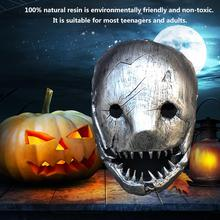 2020 Butcher Mask Party Halloween Full Face Mask Halloween Cosplay Party Killer Horror Game Mask High-end Resin Mask halloween props deadpool mask eco friendly resin cosplay party mask full face 11 6 7 inch