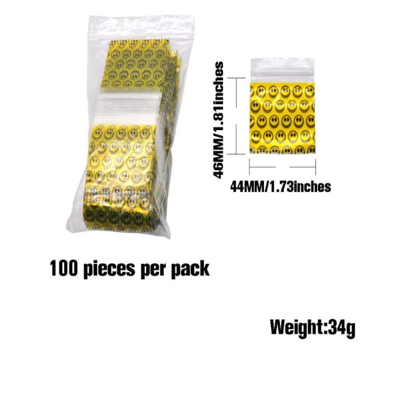 Weed Tobacco Sealed Bag 1 pack (100 pieces)