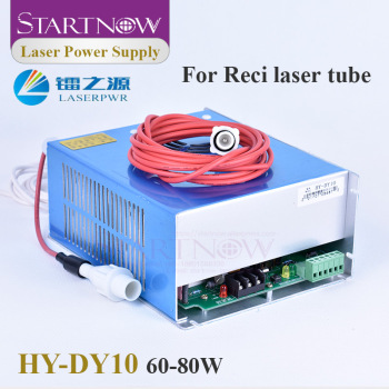 Startnow DY10 CO2 Laser Power Supply 60W 80W for RECI W2 V2 T2 W1 T1 Tube Laser Marking Cutting Engraving Machine Parts HY-DY10