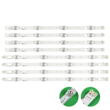 Neue Kit 8 stücke LED streifen Ersatz für LG LC420DUE 42LF652 42LB5500 INNOTEK DRT 3,0 42 inch A B 6916L 1710A 6916L 1709A 42LB620V