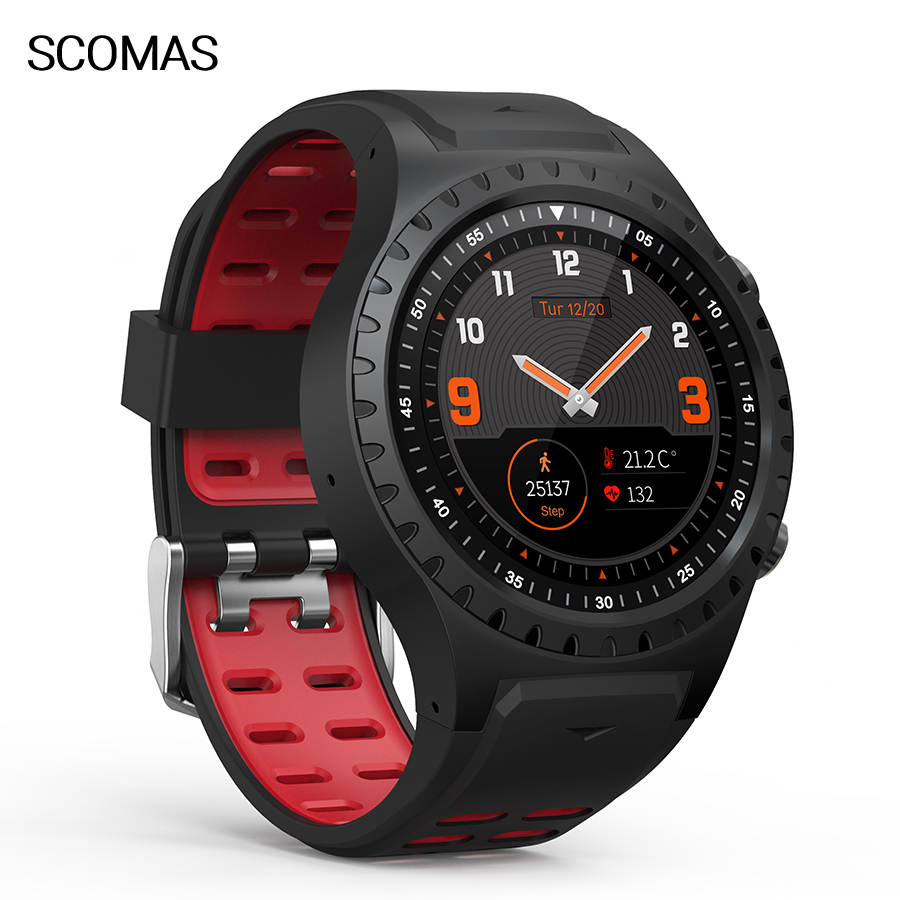 SCOMAS <font><b>M1</b></font> GPS Smart <font><b>Watch</b></font> 1.3