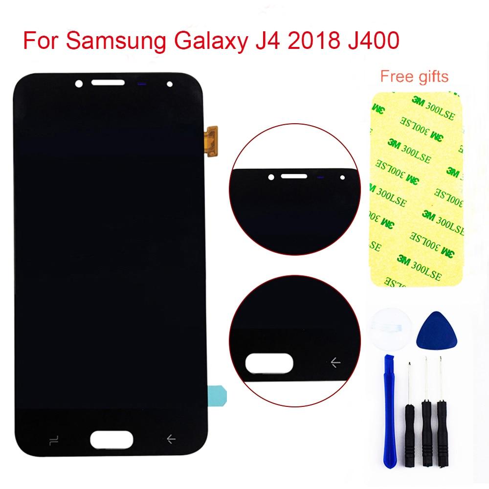 For Samsung Galaxy J4 2018 J400 LCD J400F J400H J400G J400P J400M LCD Display Module + Touch Screen Digitizer Sensor Assembly