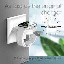 Портативное беспроводное зарядное устройство для apple watch series 6 SE 5 4 3 2 1 44 мм/40 мм, зарядная док-станция, подставка, зарядное устройство USB для ...