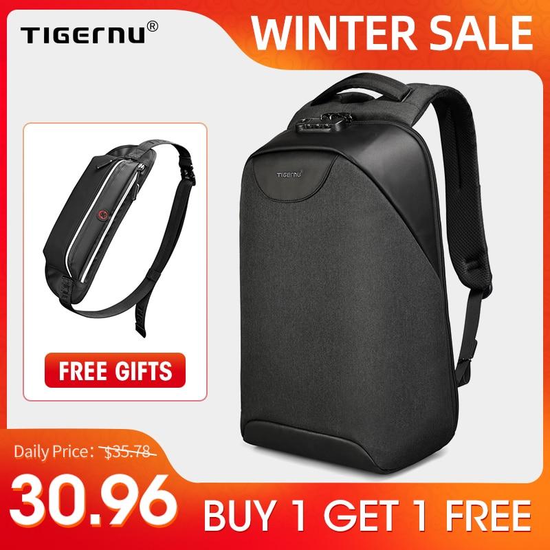 No Key Anti theft TSA Lock Fashion Men Backpacks 15.6inch USB Charging Laptop Male Mochila 18L College School Backpack for Boys|Backpacks| - AliExpress
