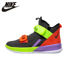 Nike Lebron Soldier13 James Soldiers Soldier  Basketball Shoe Anti-slip Breathable Man Sports Training Shoes AR4228