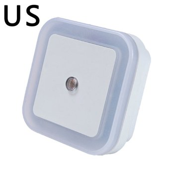 LED Night Light Mini Light Sensor Control Nightlight Lamp For Children Kids Living Room Bedroom Lighting 220V US Plug Home decor image