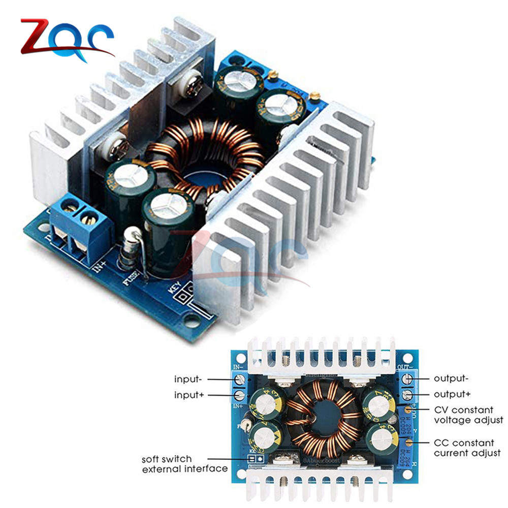 Step UP//Down Converter,DC5-30V to 1.25-30V Automatic Step UP//Down Converter Boost//Buck Voltage Regulator Module