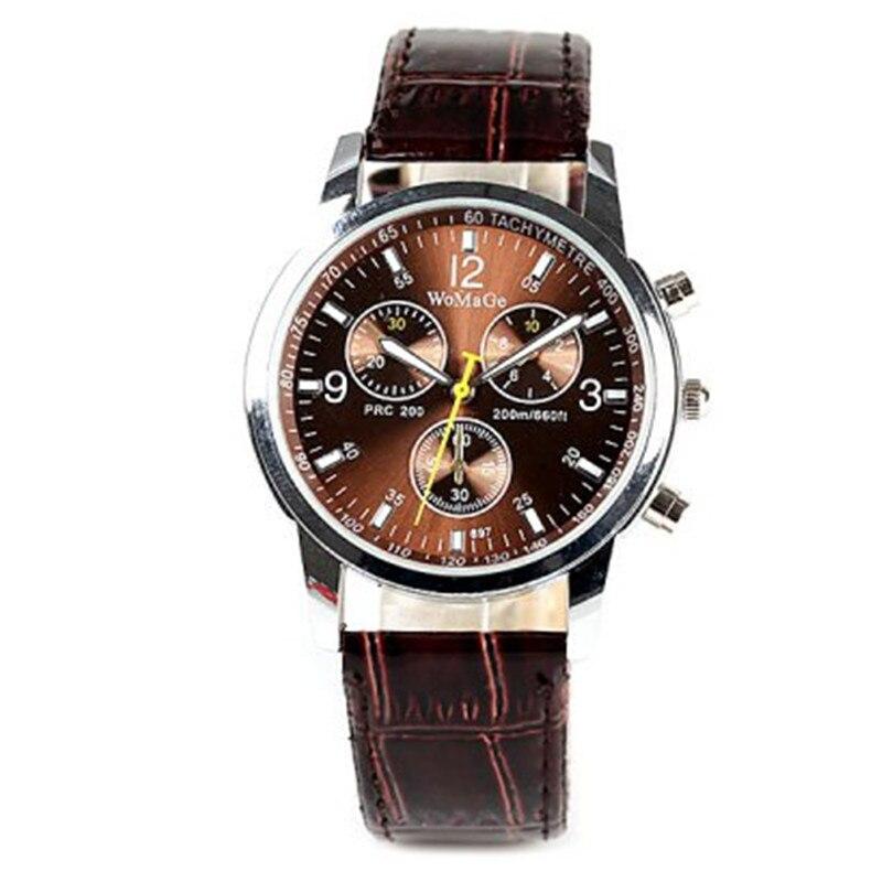 Reloj masculino reloj deportivo de acero inoxidable de moda para hombre reloj de pulsera de cuarzo de negocios reloj de pulsera reloj para hombre D7 ¡Novedad de 2019! Sandalias con agujeros para Hombre, sandalias de cuero para Hombre, sandalias de verano para Hombre