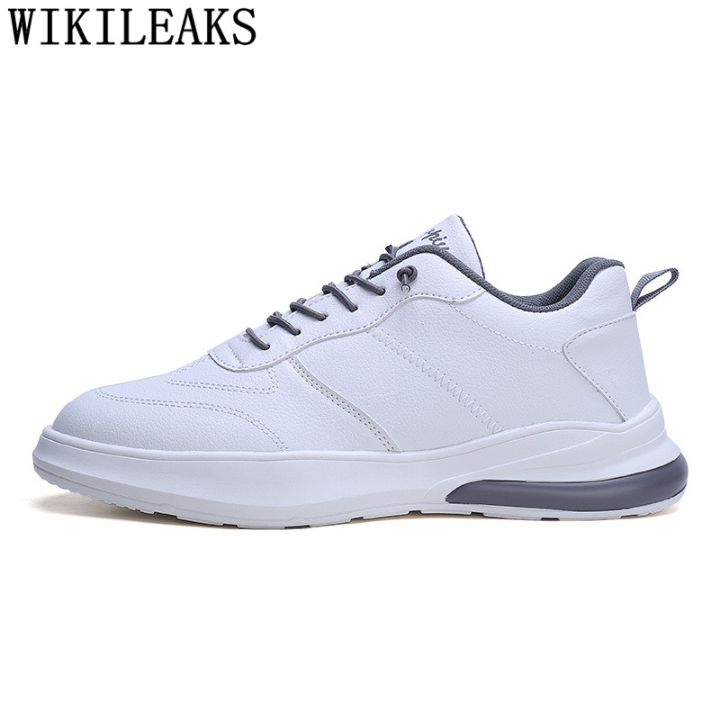 Leather Shoes Men 2020 Casual Shoes Men White Designer Shoes Men Sneakers Chaussure Homme Tenis Masculino Erkek Ayakkabi Tenis