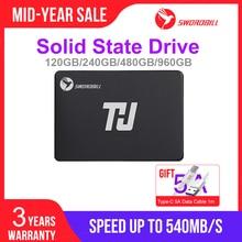 "THU 휴대용 SSD 내장 솔리드 스테이트 드라이브 120GB 240GB 480GB 960GB 2.5 ""SATA III SSD 7mm 데스크탑 노트북 PC 용"