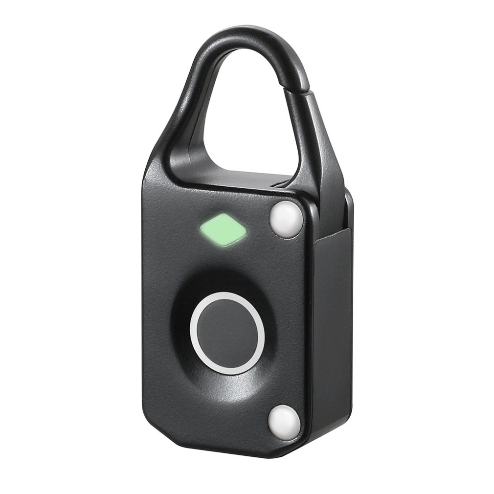 Fingerprint Padlock Electronic Intelligent Padlock Non-password Lock Household Locker Anti-theft Fingerprint Lock