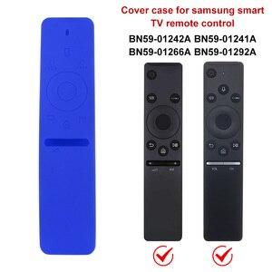 Image 4 - Capa de silicone para controle remoto, para TV Smart da Samsung BN59 01241A ,BN59 01260A ,BN59 01266A com alça