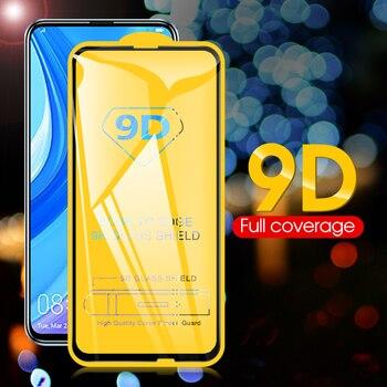 Cubierta completa de vidrio templado 9D para Huawei Y7p Y6s 2019 Y9s, película protectora de pantalla para Huawei Nova 7i P Smart 2020, Protector de cristal