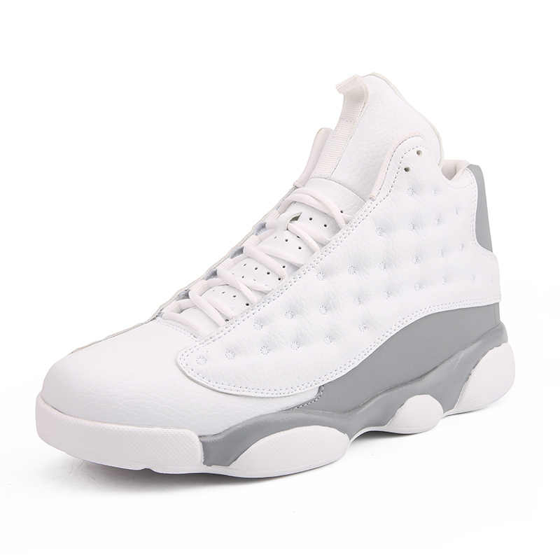 Talla grande Jordan 13 zapatos de baloncesto He Got Game Carmelo Anthony Class sneakers Neutral gris para Hombre Zapatos de baloncesto