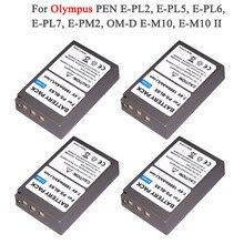 PS BLS5 BLS 5 BLS5 BLS 50 BLS50 بطارية الكاميرا لأوليمبوس القلم E PL2 ، E PL5 ، E PL6 ، E PL7 ، E PM2 ، OM D E M10 ، E M10 II ، Stylus1 L15