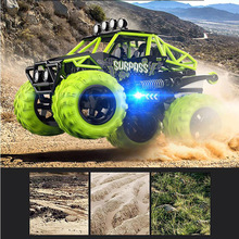RC Stunt Car Land Water 2.4Ghz Toy Kids Gifts Rechargeable Flashing Light Dump Electric