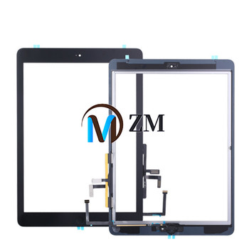 Touch For iPad Air iPad 5 Touch Screen Digitizer For iPad5 iPad Air 1 Screen Glass Panel Sensor Home Button A1474 A1475 A1476 image