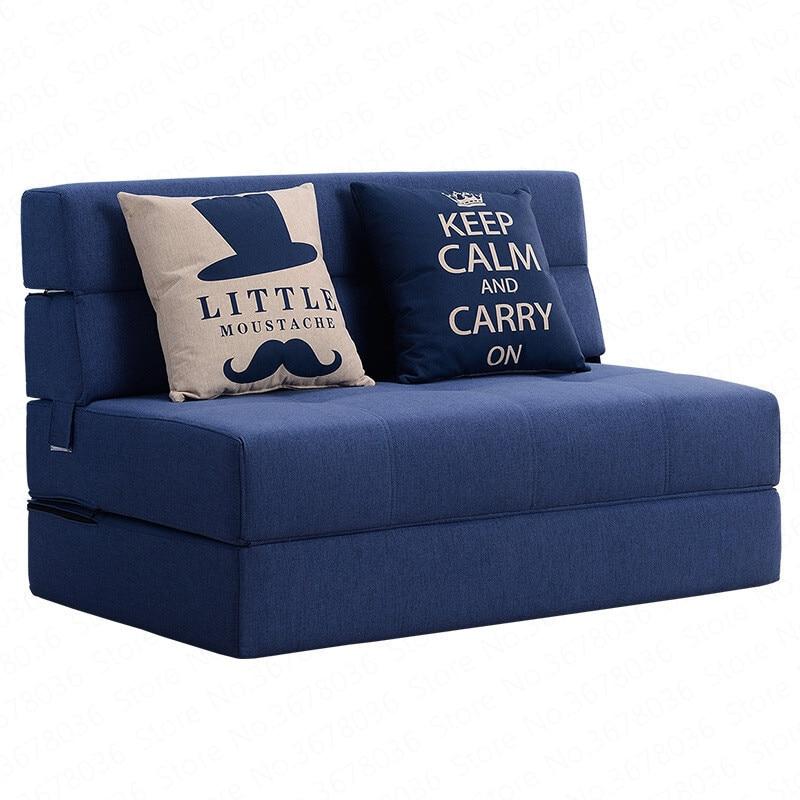Folding Lazy Sofa Bed Tatami Hard