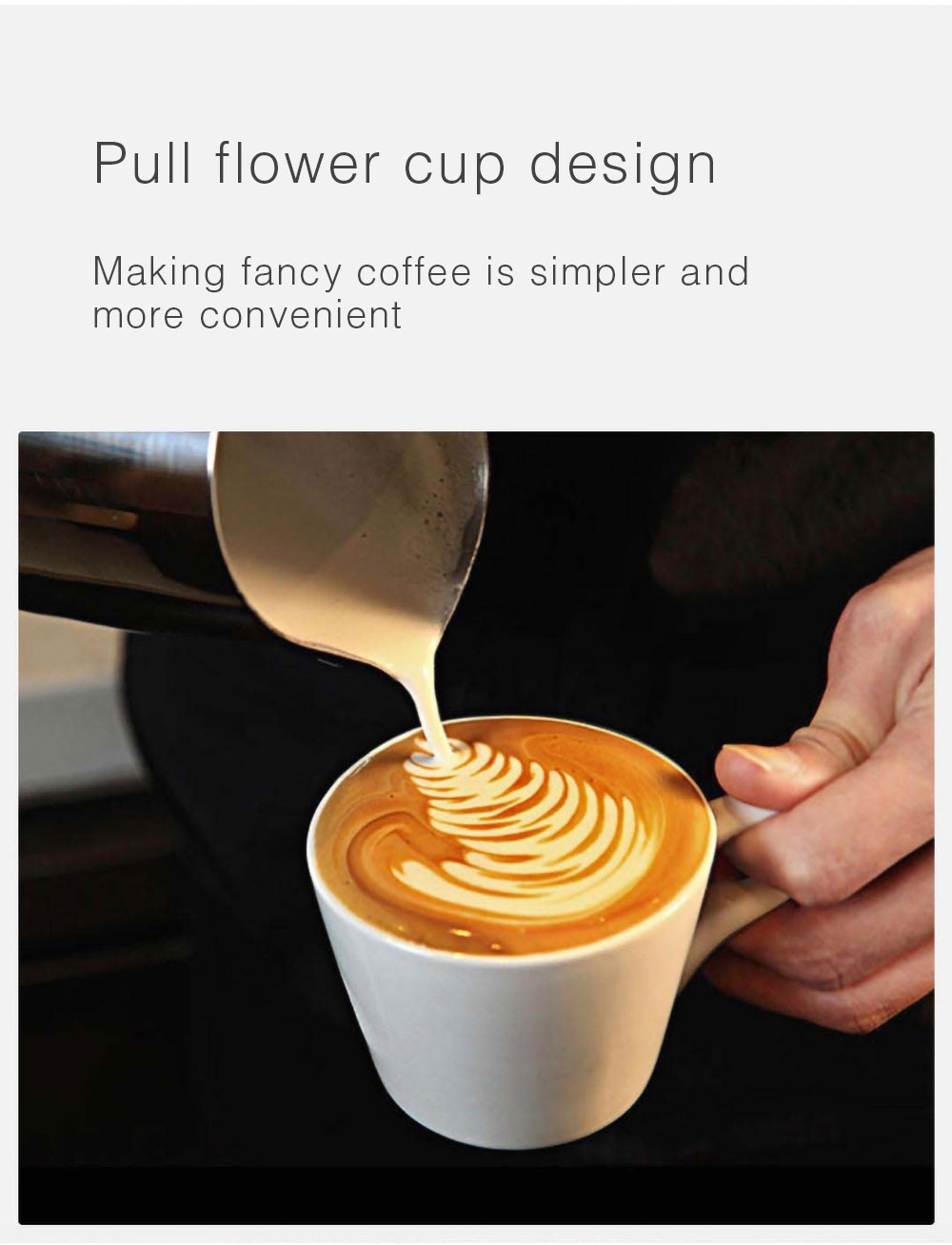 cappuccino elétrico quente frio café máquina de