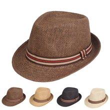 Мужские головные уборы топ шляпа для сцены джаз Панама Кепка