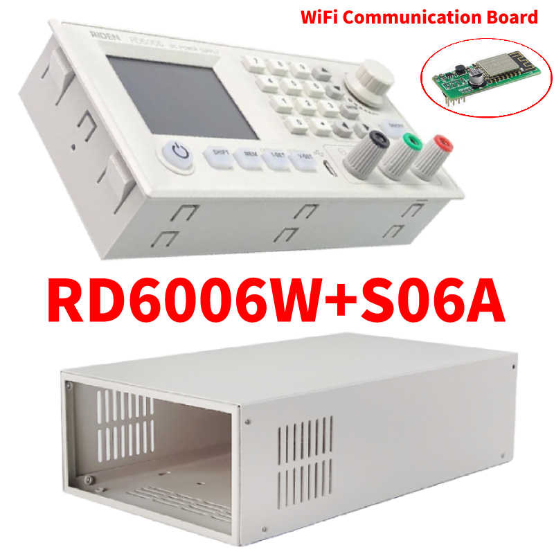 Rd S06A RD6006 RD6006W Usb Wifi DC-DC Spanning Stroom Step-Down Voedingsmodule Buck Voltage Converter Voltmeter 60V 6A