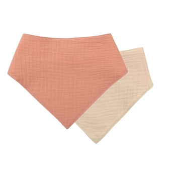 1 Pc Baby Bibs Cotton Accessories Newborn Solid Color Snap Button Soft Triangle Towel Feeding Drool Bibs - S006