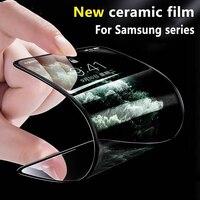 Neue Keramik Screen Protector Film für Samsung S20 FE S10 lite S21 Plus Hinweis 20 F62 Full Coverage Super Zähigkeit anti-gebrochen