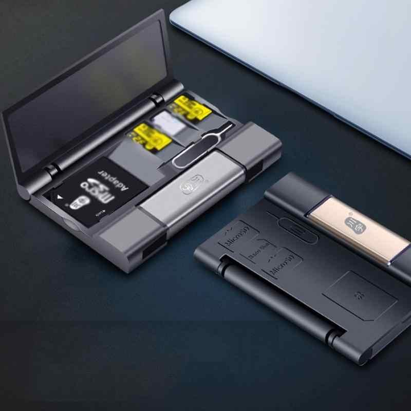 Pocket Kit Multifunction Cards Storage Box 3.0 Card Hub Adapter for Card Liulang 5 in 1 Ultimate Card Reader