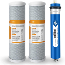 Water Filter Replacement Cartridge Compatible GE RO Set Reverse Osmosis Systems, 2 2