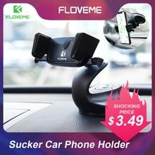 FLOVEME Автомобильный держатель для телефона с автоматическим замком для Xiaomi Mi8 Redmi Note 4X Универсальный гибкий 3 в 1 Настольный держатель для телефона в автомобиле попсокет держатель для телефона в машину