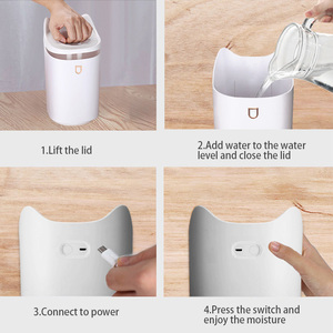 Image 5 - KBAYBO 3.3L Air Humidifier ultrasonic Aroma oil diffuser strong mist maker essential oil diffuser aromatherapy home LED lights