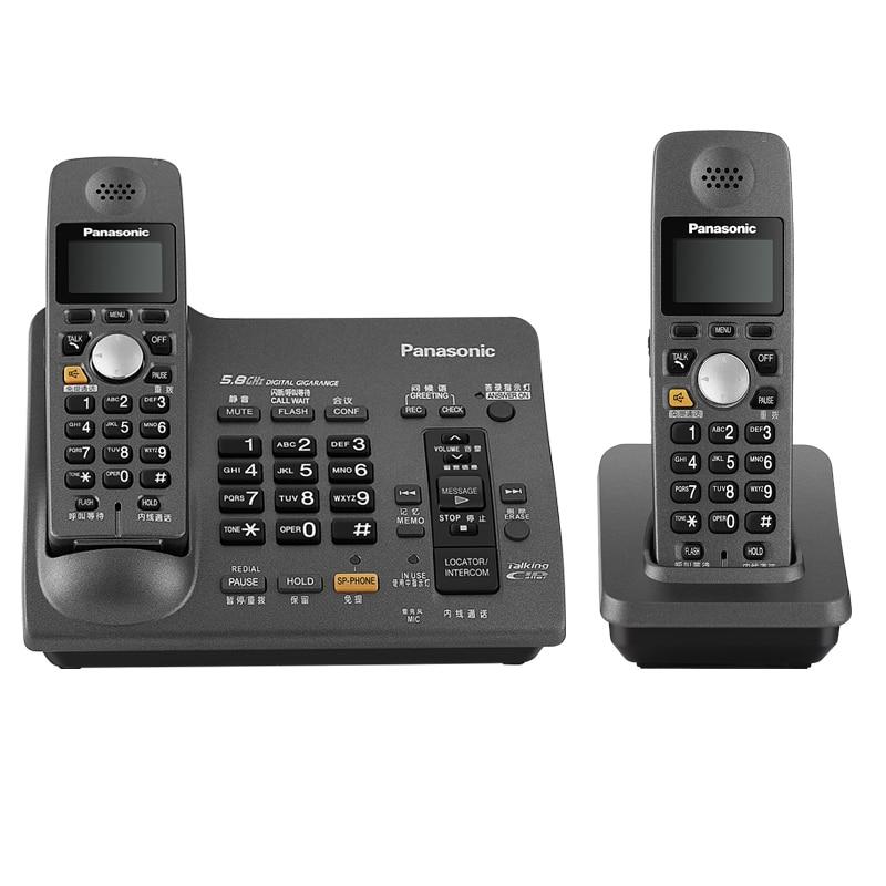 Беспроводной телефон DECT 6,0 с системой ответа, идентификационный звонок, повторный телефонный звонок, голосовая почта, стационарный телефон ...