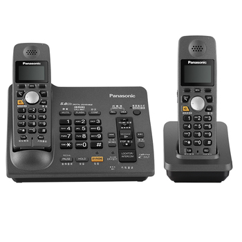 New DECT 6.0 Cordless Phone With Answering System Call ID Redial Voice Mail Landline Phone For Home Office