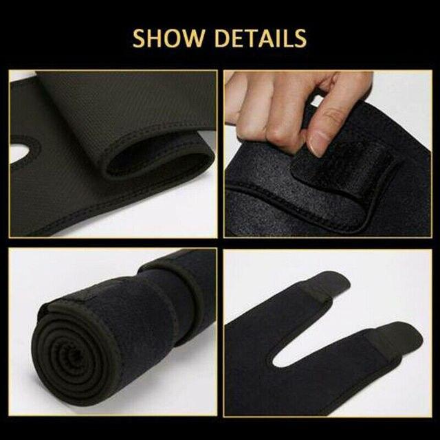 Effective Woman Leg Shaper Sauna Sweat Slimming Thigh Belt Body Shaper girdle Slim Shapewear Thermo Compress Thigh Slimming Belt 2
