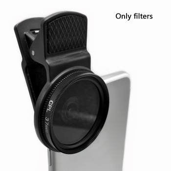 цена на 37MM Circular Universal Portable Polarizer Camera Lens CPL Filter Professional For iPhone Samsung and other smartphones